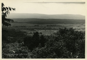 This image is part of the Thompson Family of Canaan Valley Collection. The Thompson family played a large role in the timber industry of Tucker County during the 1800s, and later prospered in the region as farmers, business owners, and prominent members of the Canaan Valley community.The location of this photograph is likely Canaan Valley, W. Va.