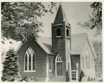 The Methodist Episcopal church was organized between 1841 and 1847