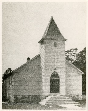 The Greensburg Evangelical United Brethren Church was founded in 1850.