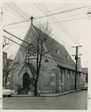 The episcopal church was founded in 1843