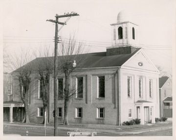 The church began as a Baptist church in 1815, but was reorganized as a Christian, Disciples of Christ, church in 1823.  It's the oldest Disciples of Christ church in the Campbell movement.
