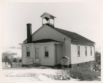 The church was organized in 1785 and is the oldest church in the Northern Panhandle of West Virginia.