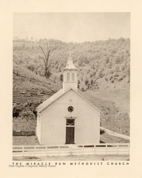 The church is located south of Bula, W. Va.  It was organized in 1847 and the building was built in 1870.  The present church was erected in 1893.
