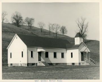 The church was organized in 1854.  A new church building was built in 1954.