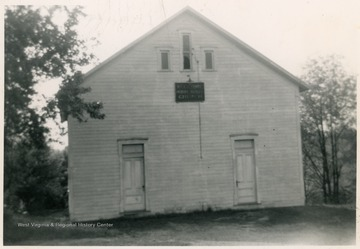 Mt. Union Methodist is located on Pt. Marion Road in Morgantown.  It began in 1881 and moved to a new location in 1909.  In 1950 the church was damaged by fire and repairs were finished in 1952.
