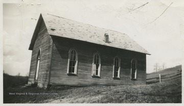 The church was built in 1883 near the town of Newburg.