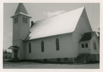 The church was organized in 1798.  The church is the oldest organization in the county.
