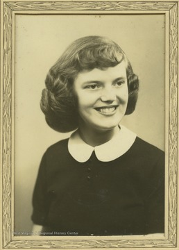 Photo of DeWitt during her years at Terra Alta High School.