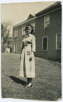 Photo of DeWitt during her senior year at the high school.