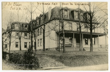 View of Woman's Hall, previously know as Episcopal Hall.