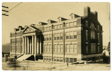 A view of the old Law Building, now known as Colson Hall.