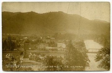 A view of Parsons, W. Va., looking west.